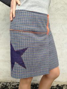 nederdel ternet med stjerne